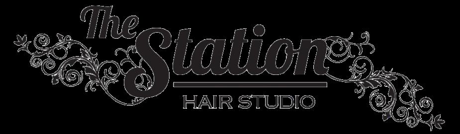 The Station Hair Studio Logo